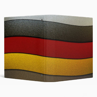 """Color-Cromo de la bandera de Alemania Carpeta 1"""""""