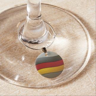Color-Cromo de la bandera de Alemania Identificadores De Copas