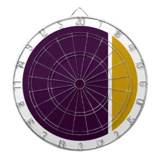 color crush circles dartboard with darts