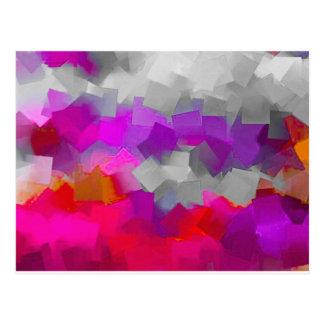 Color Cube Craze Postcard