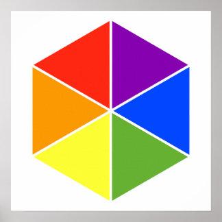 Color Cube Print