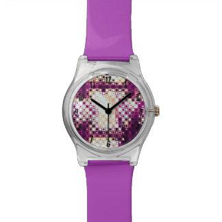 Color cubicado reloj