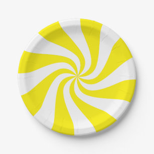 Color Customizable Candy Cane Paper Plate  sc 1 st  Zazzle & Candy Cane Colors Plates   Zazzle