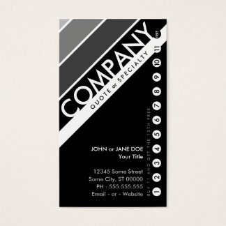 color customizable punchcard : (buy 11 get 1 free) business card