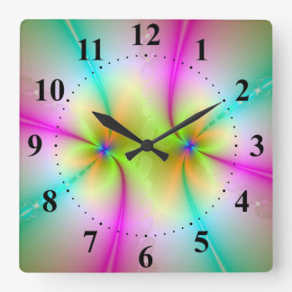 Color Dance Wall Clock