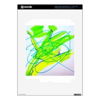 Color Dancing iPad 3 Decal