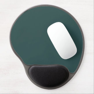 color dark slate grey gel mouse pad