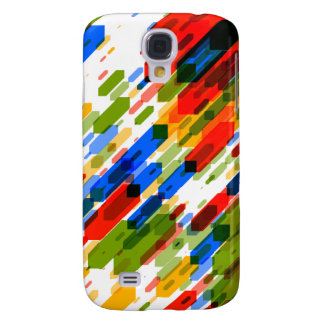 Color Darts Light: Red Blue Yellow Green Samsung Galaxy S4 Cases