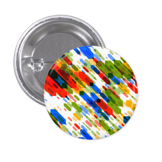 Color Darts Light: Red Blue Yellow Green Pinback Button