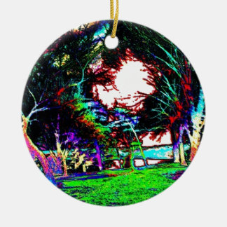 Color Days Ceramic Ornament