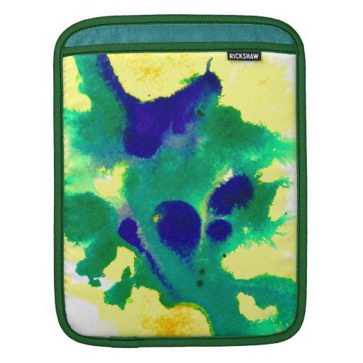 Color de agua 3 mangas de iPad