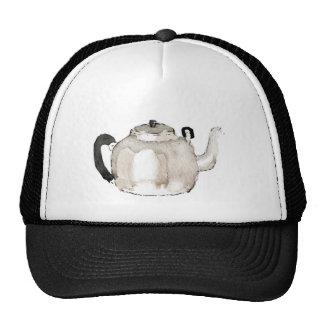 Color de agua de la caldera de té gorras de camionero
