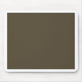 Color de color caqui del verde caqui Greyed oscuro Alfombrillas De Ratones