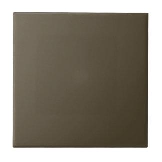Color de color caqui del verde caqui Greyed oscuro Azulejo Cuadrado Pequeño