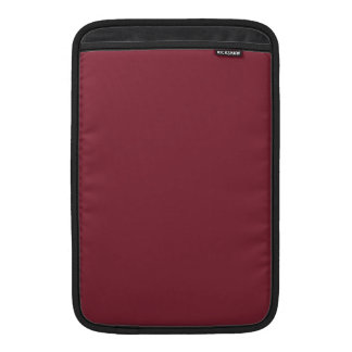 Color de encargo color de rosa oscuro oscuro de lo fundas macbook air