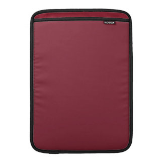 Color de encargo color de rosa oscuro oscuro de lo funda  MacBook
