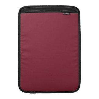 Color de encargo color de rosa oscuro oscuro de lo fundas MacBook