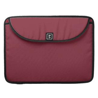 Color de encargo color de rosa oscuro oscuro de fundas para macbooks