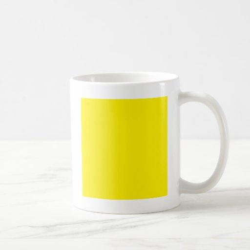 Color de fondo - amarillo taza de café