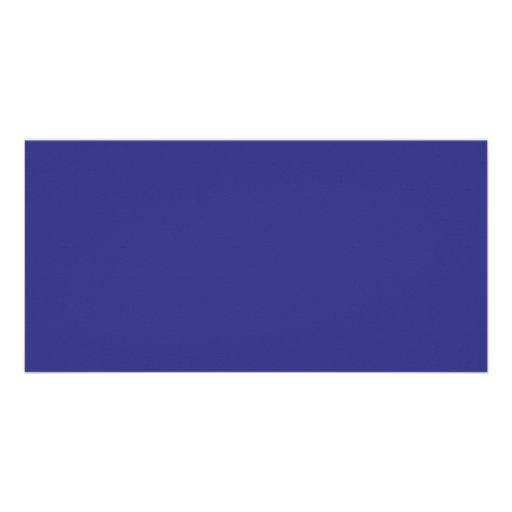Color de fondo - azul real tarjeta fotografica