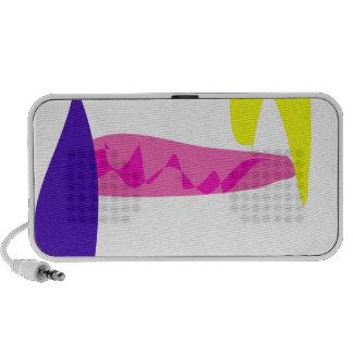 Color de fondo de encargo afuera iPod altavoz