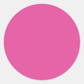 Color de fondo - fucsia etiqueta redonda