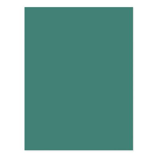 Color de fondo - jade tarjetas postales