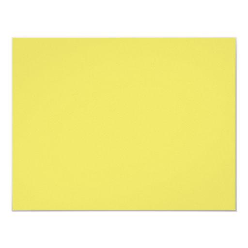 """Color de fondo - mostaza invitación 4.25"""" x 5.5"""""""