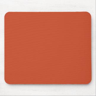 Color de fondo - naranja quemado tapetes de raton