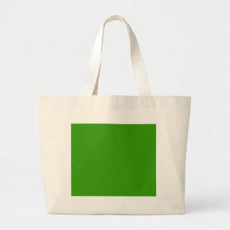 Color de fondo verde sólido 339900 bolsas de mano