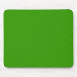 Color de fondo verde sólido 339900 tapetes de ratones