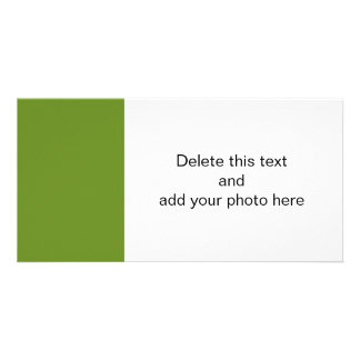 Color de gama alta del diseñador del uniforme mili tarjetas fotograficas personalizadas