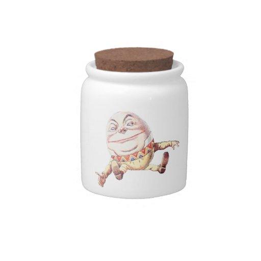 Color de Humpty Dumpty Jarra Para Caramelo