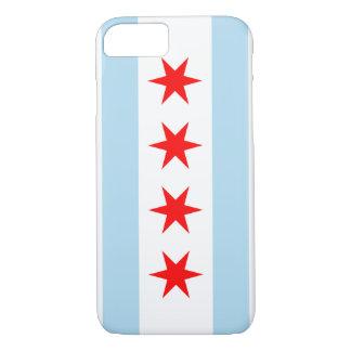 Color de la bandera de Chicago - caso del iPhone 7 Funda iPhone 7
