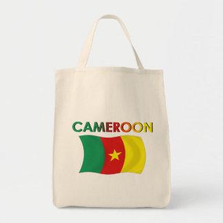 Color de la bandera del Camerún tri Bolsas De Mano