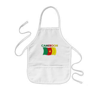 Color de la bandera del Camerún tri Delantal