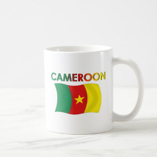 Color de la bandera del Camerún tri Taza