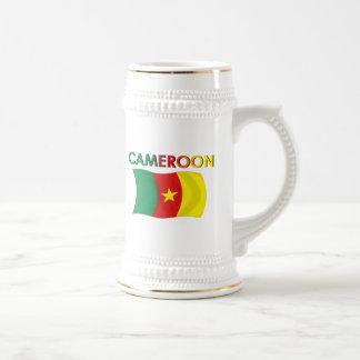 Color de la bandera del Camerún tri Taza De Café