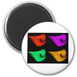 color de la cala imán redondo 5 cm