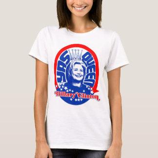 Color de la camisa de la reina de Hillary Clinton