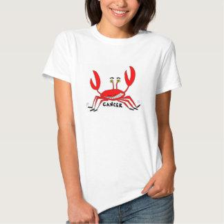 Color de la camiseta de las mujeres del cáncer del poleras