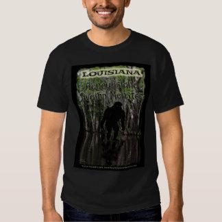 Color de la camiseta del monstruo del pantano de playera