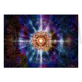 Color de la constelación tarjeton