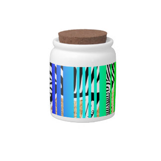 Color de la diversión del vector del diseño del tarro de cerámica para dulces