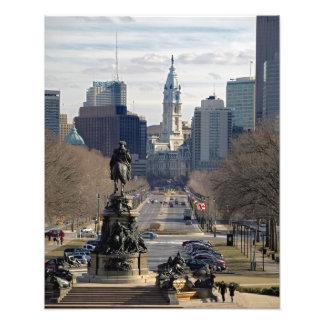 COLOR de la IMPRESIÓN de la FOTO de Philadelphia