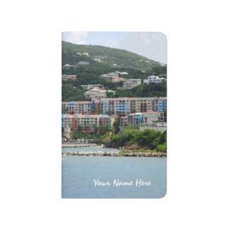 Color de la isla cuaderno grapado