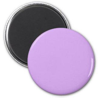 Color de la lavanda imán redondo 5 cm