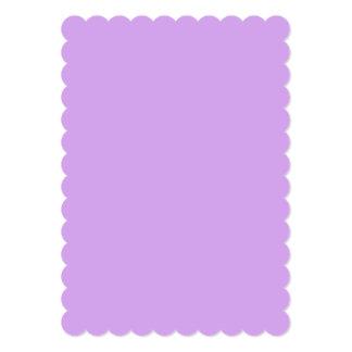 """Color de la lavanda invitación 5"""" x 7"""""""