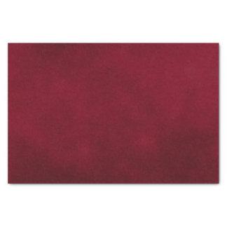 Color de la mancha de Borgoña Papel De Seda Pequeño