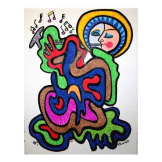 Color de la música por Piliero Tarjetón